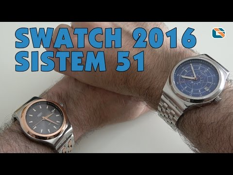 Swatch 2016 Sistem51 Boreal & Tux Review • Watches Up Close & Personal
