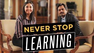Never Stop Learning. Feat. Nawazuddin Siddiqui | MostlySane | Thackeray