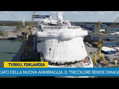 Breaking news Costa Smeralda: Hull Painting