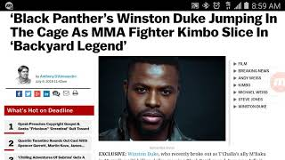 WINSTON DUKE aka MBAKU will play KIMBO SLICE in Movie