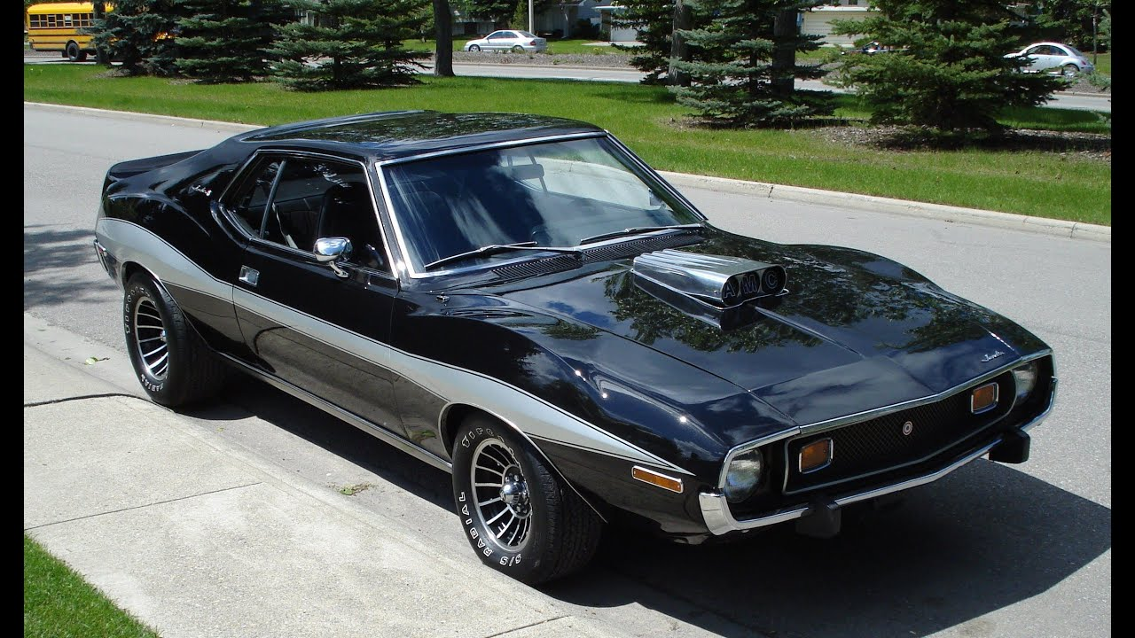 All American Motors >> AMC Javelin - YouTube