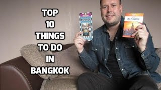 Top 10 Things To Do In Bangkok / Thailand Travel Guide (HD)