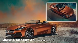 BMW Z4 Concept 2019 - Interior and exterior | BMW Concept Roadster
