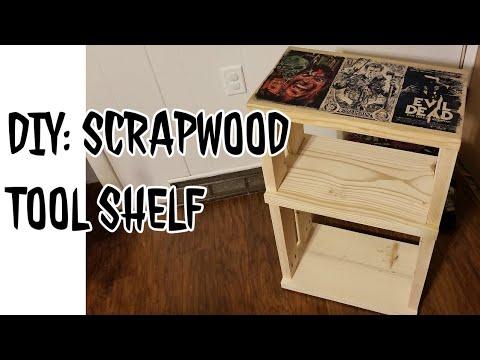 DIY: Scrapwood Tool Shelf (Easy & Fun)