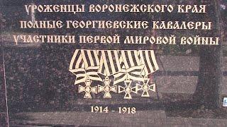 Воронеж отметил 100-летие Первой мировой войны.