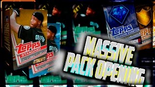 MASSIVE PACK OPENING ! | MLB The Show 17 Diamond Dynasty
