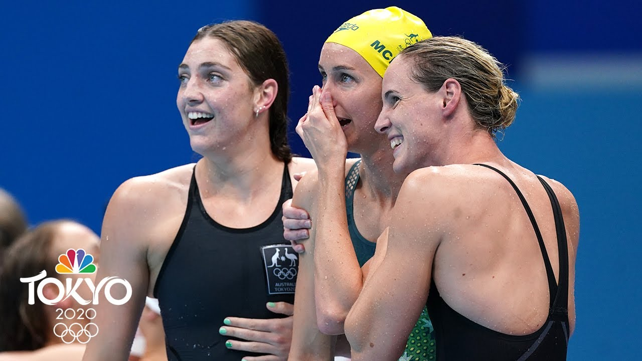 Ledecky and Titmus Meet Again. This Time in the 4x200 Free Relay.