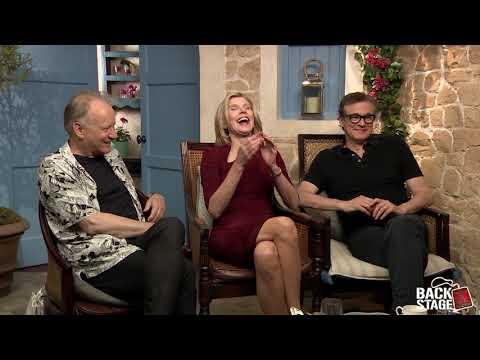 Colin Firth, Stellan Skarsgard & Christine Baranski Talk MAMMA MIA! HERE WE GO AGAIN