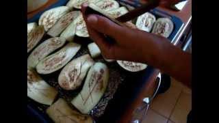 Фаршированные баклажаны запеченные в духовке