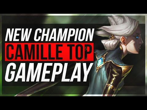 CAMILLE IS..BROKEN!! (4v5) - Camille Top Gameplay - League of Legends