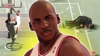 CRAZY CONTACT DUNKS!! MICHAEL JORDAN POSTERIZERS!? NBA 2K17