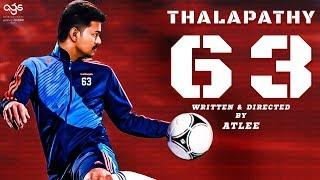 Thalapathy 63 Shooting Begins In Chennai   ThalapathyVijay   Atlee   Nayanthara   Ags Entertainment