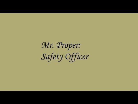 Mr. Proper Safety Officer S2 E3