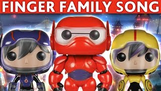 daddy finger song big hero 6 finger family big hero 6 nursery rhymes for children