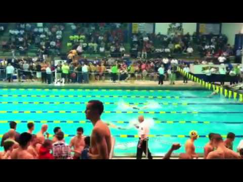 Pennsbury High School Swimming- Districts 2012 - 200 Free R