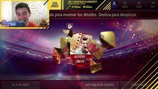OBTENGO AL KUN AGUERO !!!    FIFA DROID