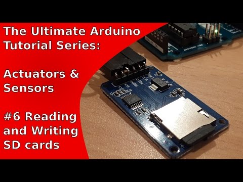 """How to use the """"MicroSD Card Adapter"""" with the Arduino Uno"""