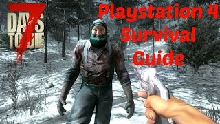 7 Days to Die - PS4 Survival Guide Night 43 - Farming Fun