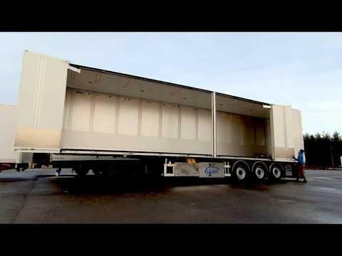 Ekeri FNA classed semi trailer