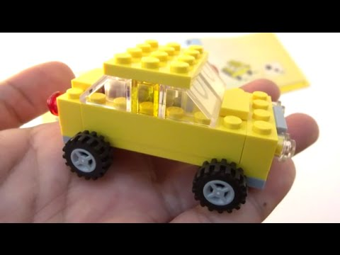 Step By Step How To Build A Lego Car Instructions Lego Classic