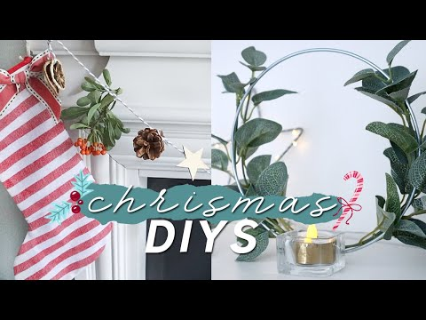 DIY Christmas Decorations on a Budget 🎄Modern and Minimal Christmas Decor Ideas