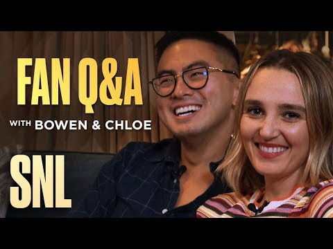 SNL Fan Q&A with Bowen Yang and Chloe Fineman