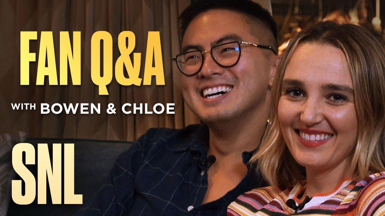 SNL Fan Q&A with Bowen Yang and Chloe Fineman