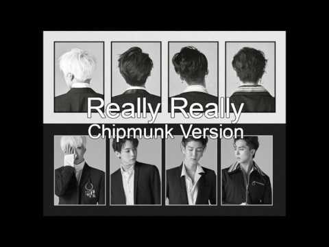 WINNER - REALLY REALLY [Chipmunk Version]