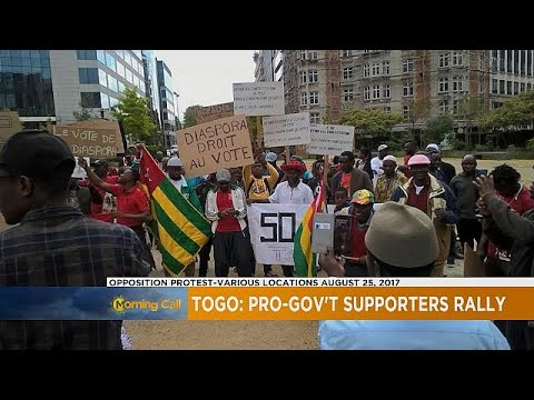 Pro-govt counter-protest staged in Togo [The Morning Call]