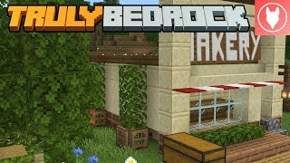 Truly Bedrock S1 : E18 - Minecart Unloader & Finished Bakery