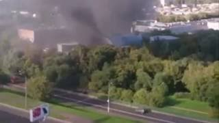 Трагедия в Москве, при пожаре погибло большое количество людей