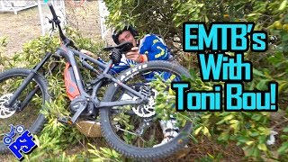 Riding eMTB's with Toni Bou! In Spain for the TdN - PSF 11