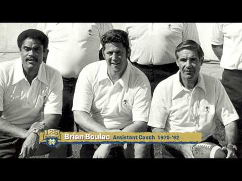 Vagas Ferguson - Strong and True - 125 Years of Notre Dame Football - Moment #113
