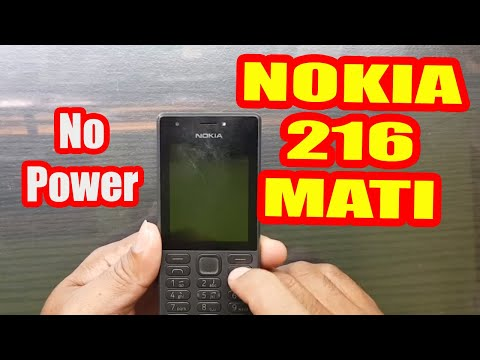 CARA PERBAIKI Nokia MATI TOTAL KORSLET FULL SHORT I NOKIA 215 RM 1110  MATI TOTAL KONSLET.