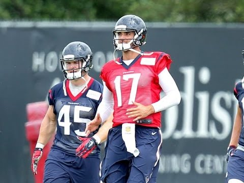Brock Osweiler Houston Texans QB Will Lead Team To NFL Playoffs
