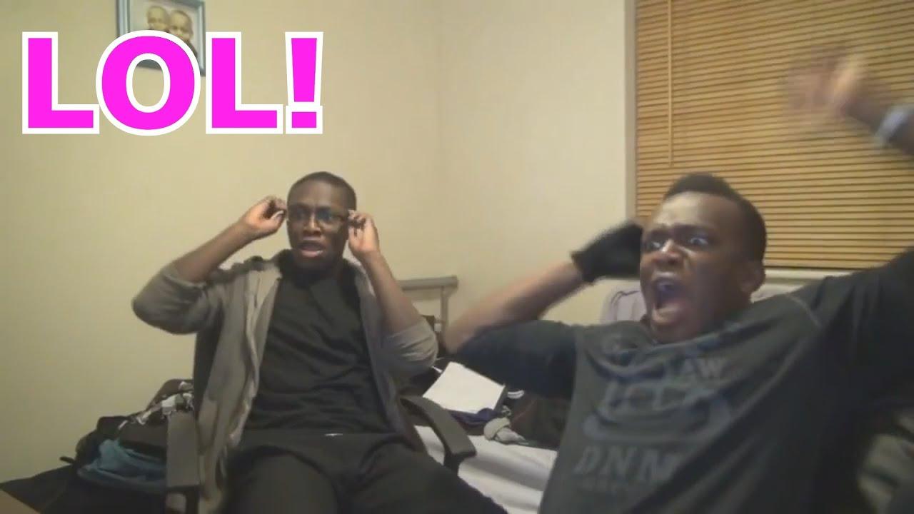 Reacting To Ksi And Deji Youtube