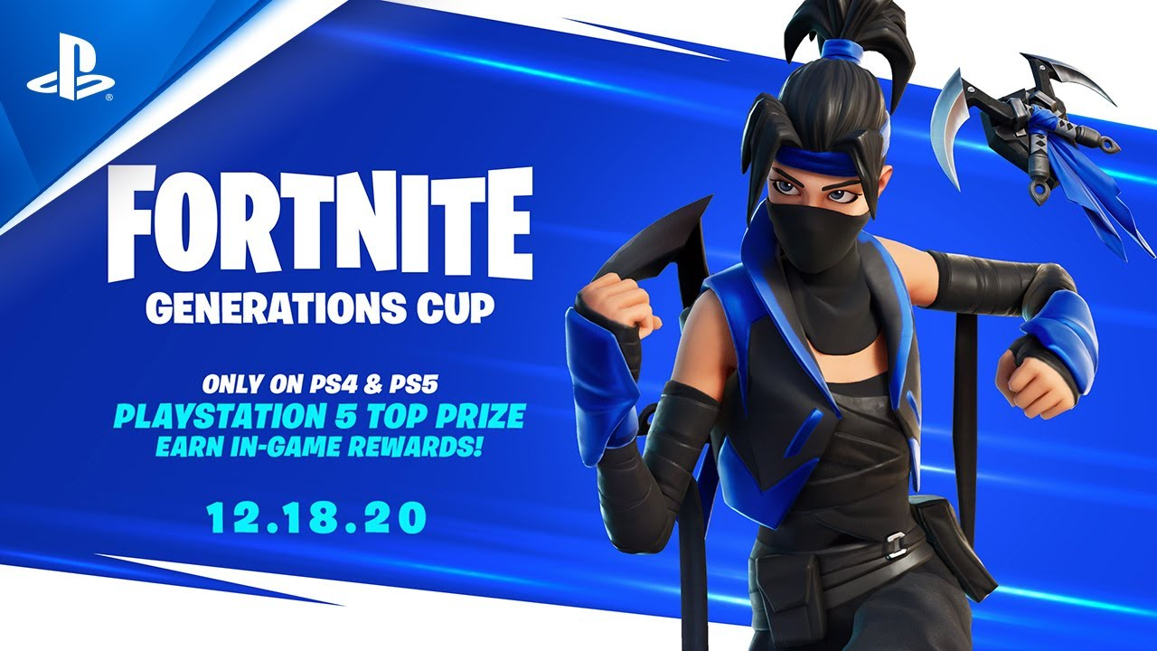 Fortnite Link Ps4 Pro Comp How To Win A Free Ps5 Fortnite Skin In The Generations Cup Fortnite Intel