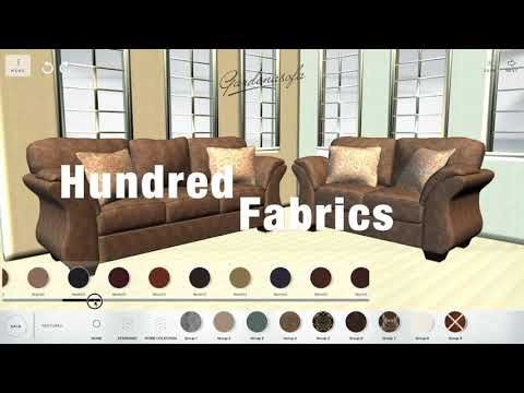 Let's custom Zoey sofa with Gardena Sofa LLC