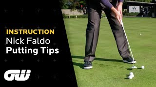 Putting Tips For Pressure Situations | Nick Faldo Putting Tips | Instruction | Golfing World