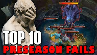 Top 10 PreSeason Fails