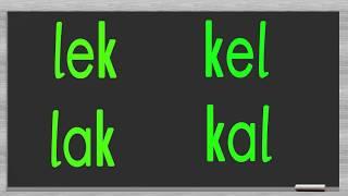 dik temel harfler e l a k sesi birleştirme hece kelime cümle oluşturma düz yazı