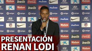 Así fue la presentación de Renan Lodi con el Atlético de Madrid   Diario AS