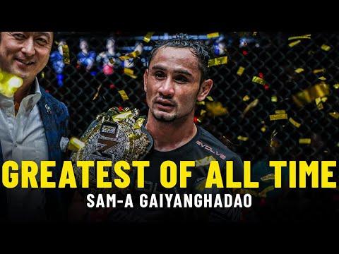 Sam-A Gaiyanghadao: Muay Thai's Greatest Of All Time?