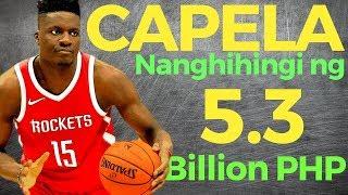 Houston Rockets: Clint Capela Nanghihingi ng 5.3 BILLION Pesos!