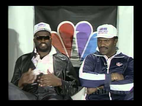 Lawrence Taylor and Harry Carson Superbowl XXI Hilarious Interview