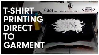 T-shirt Printing Direct to Garment