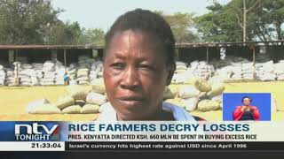 Ahero rice farmers count losses due to lack of ready market