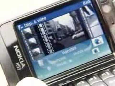 Nokia N93 Video Editing