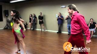 Ballroom Social Performance at Casa Salsa Dance Studios