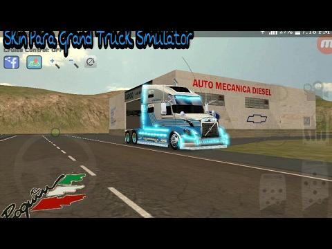 Skin De Volvo Para Grand Truck Simulator😍 - YouTube